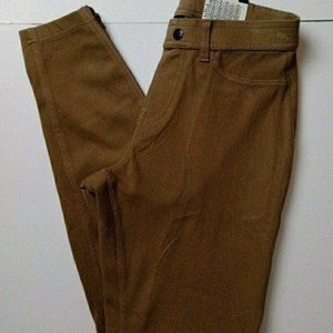 NWT Hue size small golden color leggings